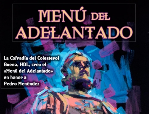 """""""Menú del Adelantado"""" en honor a Pedro Menéndez"""